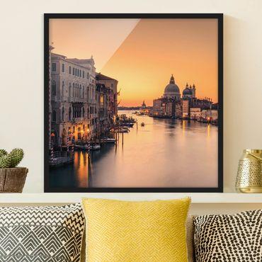 Poster con cornice - d'oro di Venezia