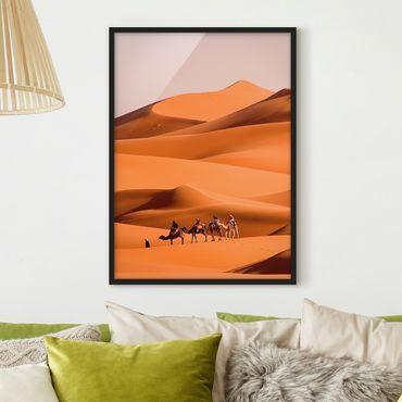 Poster con cornice - Namib Desert - Verticale 4:3