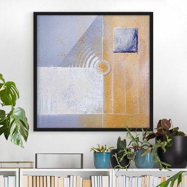 Poster con cornice - Pastel For Your Room - Quadrato 1:1