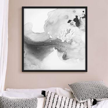 Poster con cornice - Haze And Water II - Quadrato 1:1