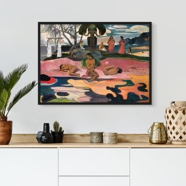 Poster con cornice - Paul Gauguin - God's Day - Orizzontale 3:4