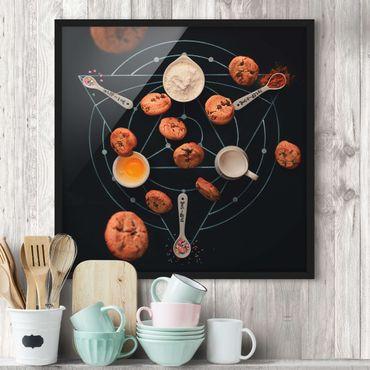Poster con cornice - Alchemy Of Baking - Quadrato 1:1