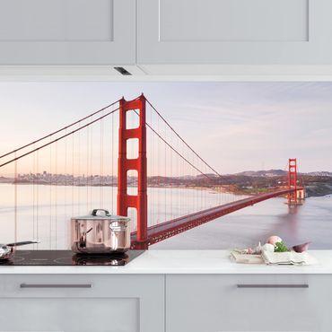 Rivestimento cucina - Golden Gate Bridge Di San Francisco