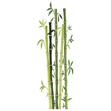 Adesivo murale Bamboo Bush