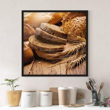 Poster con cornice - Snack - Quadrato 1:1