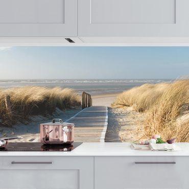 Rivestimento cucina - Spiaggia Del Mar Baltico