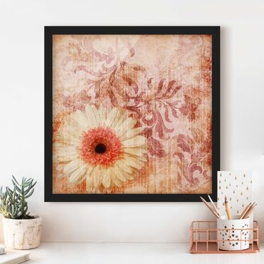 Poster con cornice - Forgotten Beauty I - Quadrato 1:1