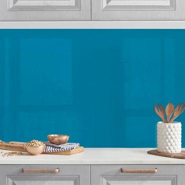 Rivestimento cucina - Color petrolio