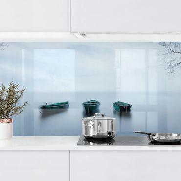 Rivestimento cucina - Calma perfetta sul lago