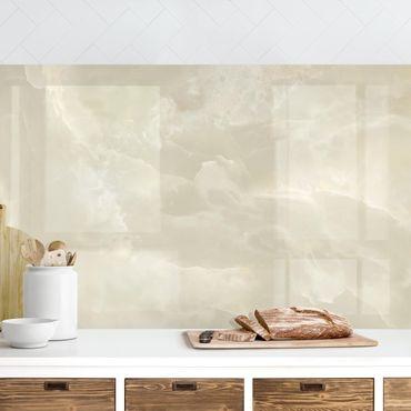 Rivestimento cucina - Marmo Onyx crema