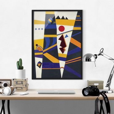 Poster con cornice - Wassily Kandinsky - Binding - Verticale 4:3