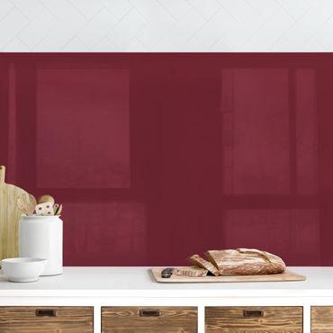 Rivestimento cucina - Color bordeaux