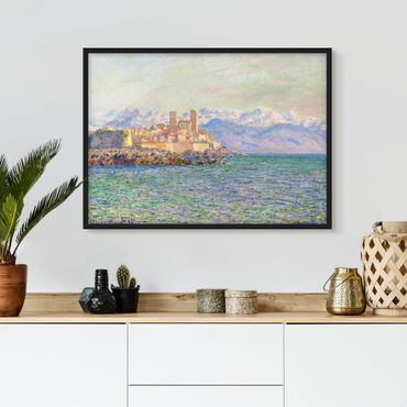 Poster con cornice - Claude Monet - Antibes Le Fort - Orizzontale 3:4
