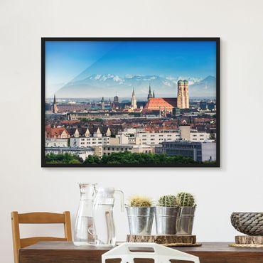 Poster con cornice - Munich - Orizzontale 3:4