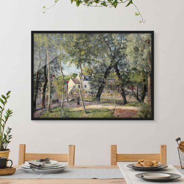 Poster con cornice - Camille Pissarro - Landscape At Osny - Orizzontale 3:4