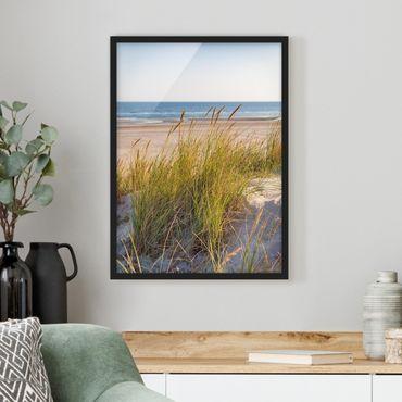 Poster con cornice - Beach Dune Al Mare - Verticale 4:3