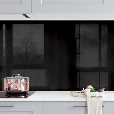 Rivestimento cucina - Color nero profondo