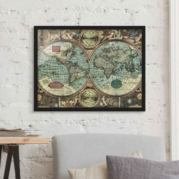 Poster con cornice - The Old World - Orizzontale 3:4