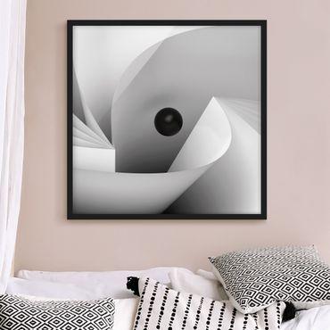 Poster con cornice - Big Eye - Quadrato 1:1