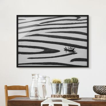 Poster con cornice - Beauty Of Simple Life - Orizzontale 3:4