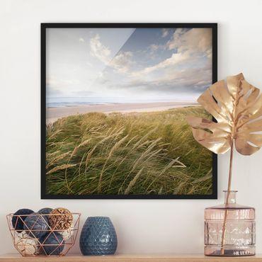 Poster con cornice - Dunes Dream - Quadrato 1:1
