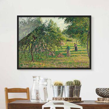 Poster con cornice - Camille Pissarro - Apple Trees - Orizzontale 3:4