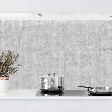 Rivestimento cucina - Ottica cemento per parete