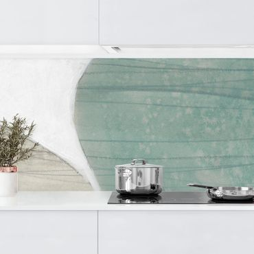 Rivestimento cucina - Pietra di giada I
