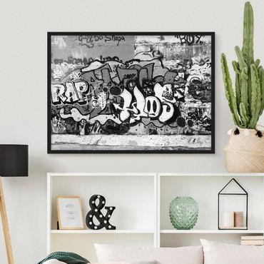 Poster con cornice - Graffiti Art - Orizzontale 3:4