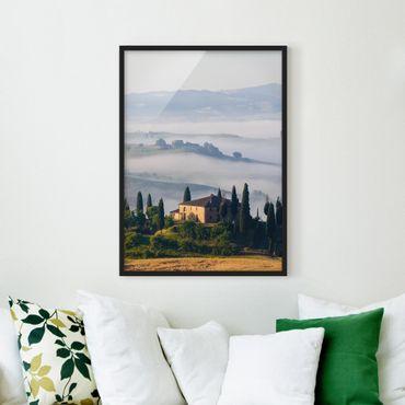 Poster con cornice - Estate In Tuscany - Verticale 4:3