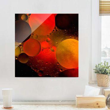 Quadro in vetro - Astronomicamente - Quadrato 1:1