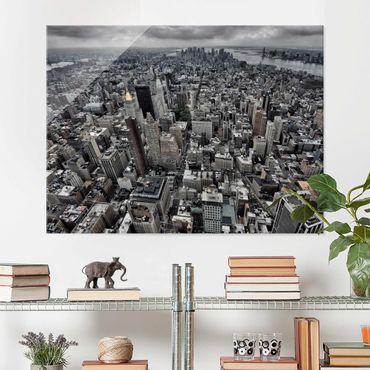 Quadro in vetro - View Over Manhattan - Large 3:4