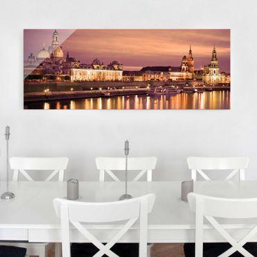 Quadro in vetro - Canaletto Dresden - Panoramico