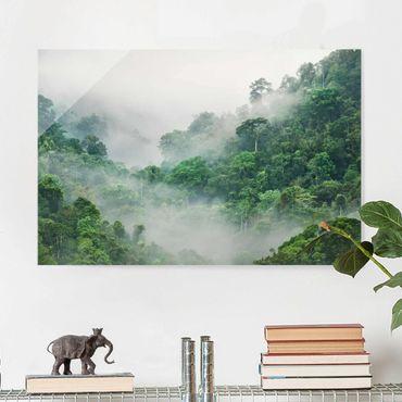Quadro in vetro - Jungle In The Fog - Orizzontale 3:2