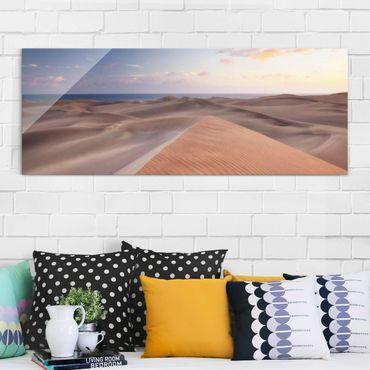 Quadro in vetro - Dune View - Panoramico