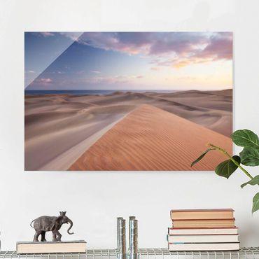 Quadro su vetro - View of the dunes - Orizzontale 3:2
