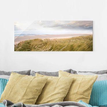 Quadro in vetro - Dunes dream - Panoramico