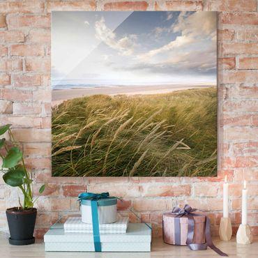 Quadro in vetro - Dunes dream - Quadrato 1:1