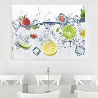 Quadro in vetro - Fruit Cocktail - Orizzontale 4:3