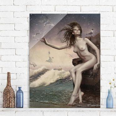 Quadro in vetro - In the surf - Verticale 3:4