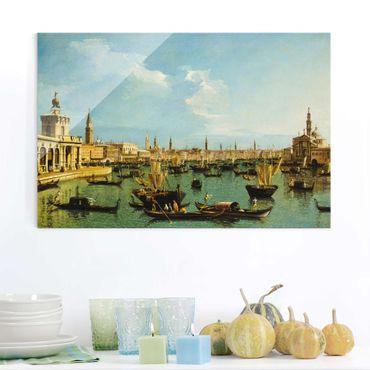 Quadro in vetro - Bernardo Bellotto - Bacino di San Marco, Venedig - Orizzontale 3:2