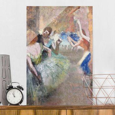 Quadro in vetro - Edgar Degas - Scena il Balletto - Impressionismo - Verticale 2:3