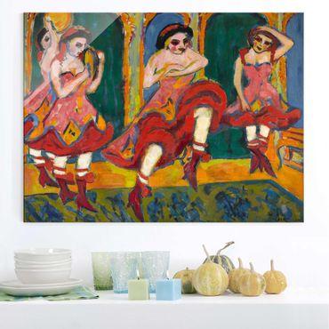 Quadro in vetro - Ernst Ludwig Kirchner - Czardas Dancers - Orizzontale 4:3