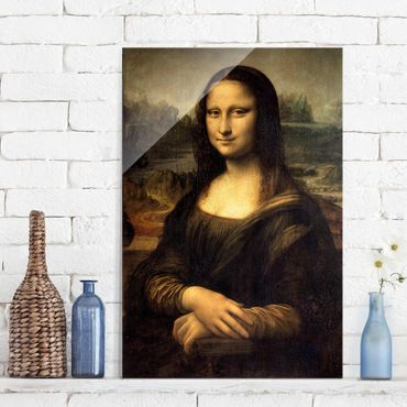 Quadro in vetro - Leonardo da Vinci - Mona Lisa - Verticale 2:3