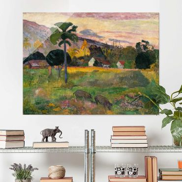Quadro in vetro - Paul Gauguin - Haere mai - Post-Impressionismo - Orizzontale 4:3