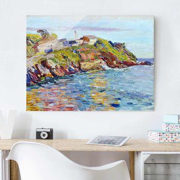 Quadro in vetro - Wassily Kandinsky - Baia di Rapallo - Espressionismo - Orizzontale 4:3