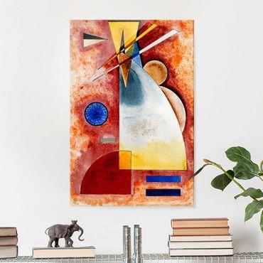 Quadro in vetro - Wassily Kandinsky - Uno nell'altro - Espressionismo - Verticale 2:3