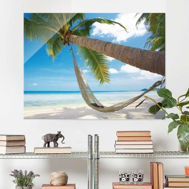 Quadro in vetro - Relaxing Day - Orizzontale 4:3