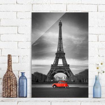 Quadro in vetro - Spot on Paris - Verticale 2:3