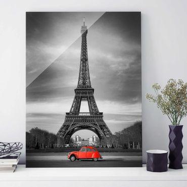 Quadro in vetro - Spot on Paris - Verticale 3:4